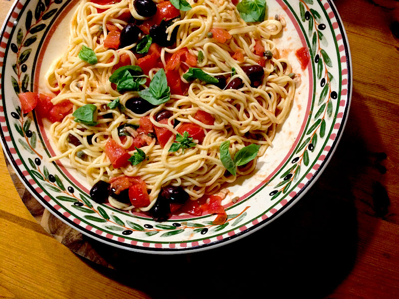 anchovy-pasta