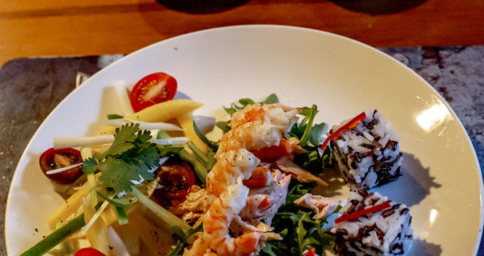 Prawn and Smoked Trout Salad